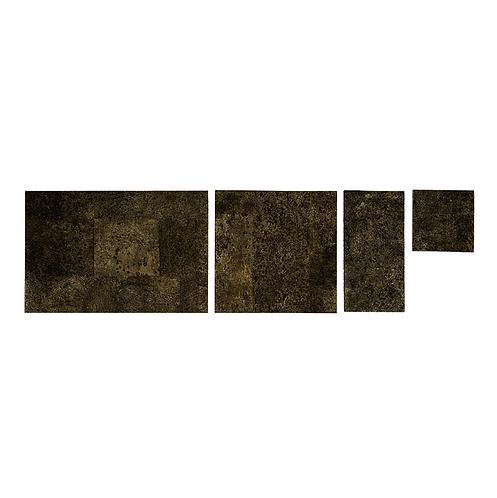 Brown Gold Cork Grand Tiles