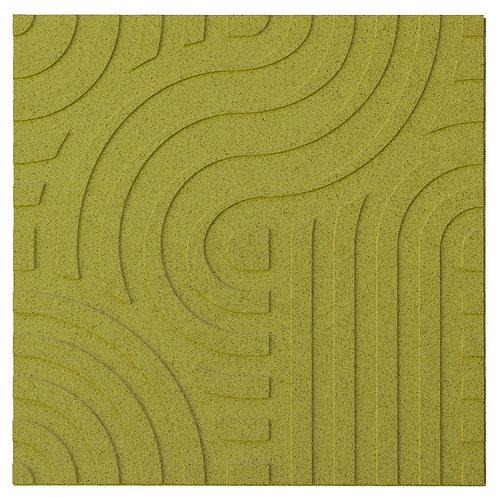 Olive Wave 3D Panels - 2.53 sqm box