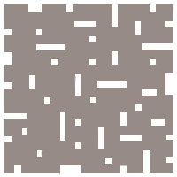 Cool Beige No Touch Motif Pattern Tiles