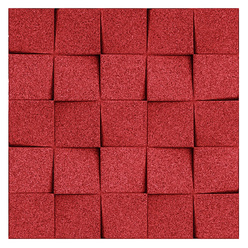 Red Mini-chock 3D Tiles