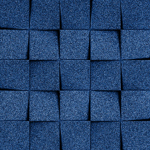 Blue Mini-chock 3D Tiles