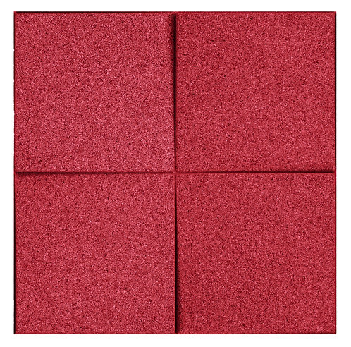 Red Chock 3D Tiles - 0.99 sqm box