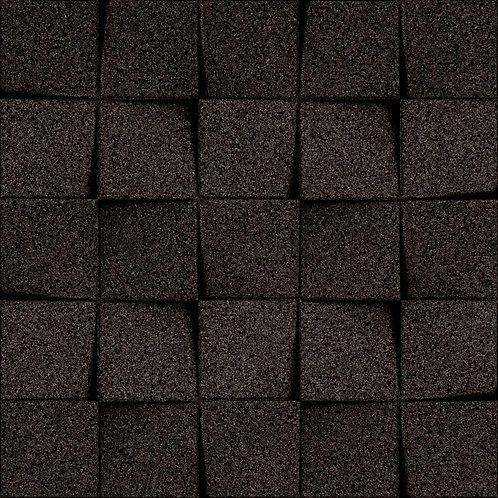 Black Mini-chock 3D Tiles