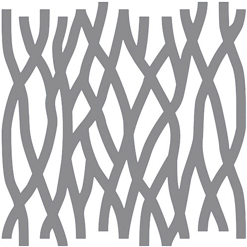 Silver Roots Motif Pattern Tiles