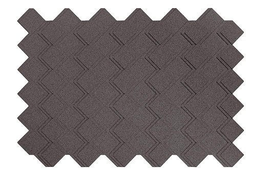Grey Step 3D Panels - 3.01 sqm box