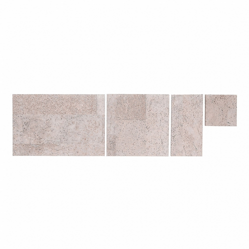 Rose Wood Cork Grand Tiles