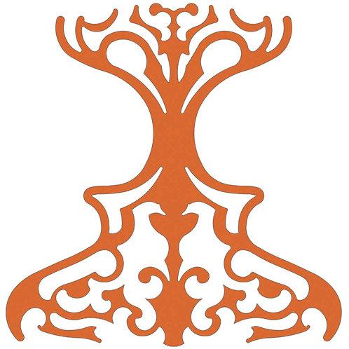 Orange Classic Motif Pattern Tiles