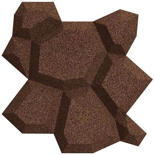 Aubergine (Brown) Beehive 3D Tiles