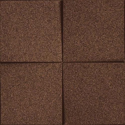 Aubergine (Brown) Chock 3D Tiles
