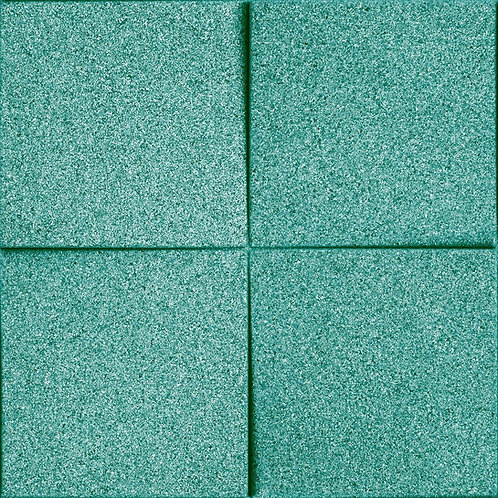 Turquoise Chock 3D Tiles
