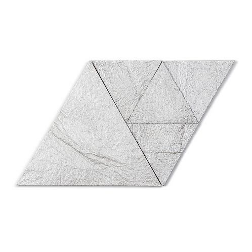 Pearl Metallic Triangle Cork Stone Tiles
