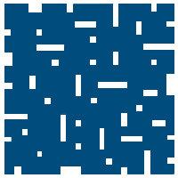 Cobalt Blue No Touch Motif Pattern Tiles