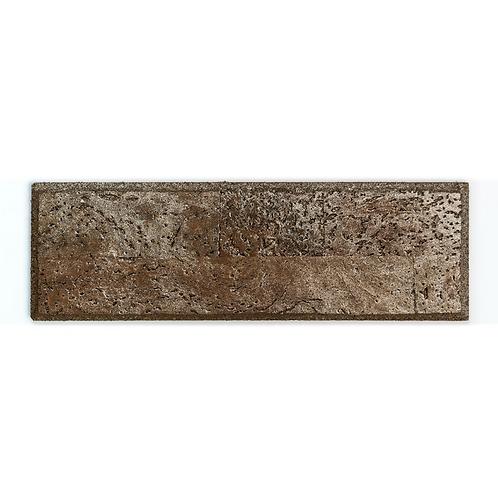 Brown Silver Subway Tiles