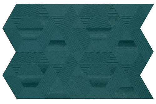 Emerald Geometric 3D Panels - 2.3 sqm box