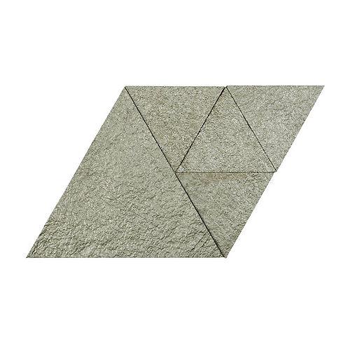 Moonstone Metallic Triangle Cork Stone Tiles