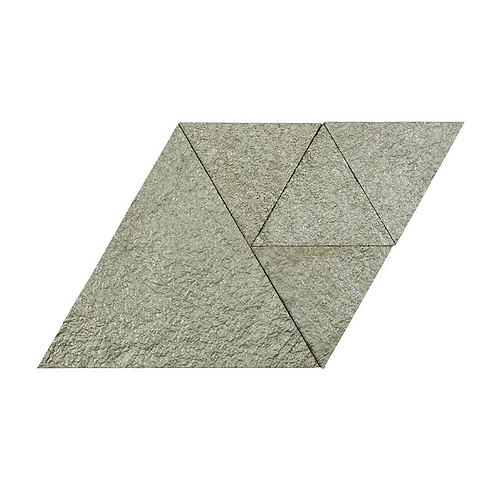 Moonstone Metallic Triangle Cork Stone Tiles