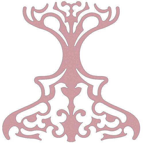 Retro Pink Classic Motif Pattern Tiles
