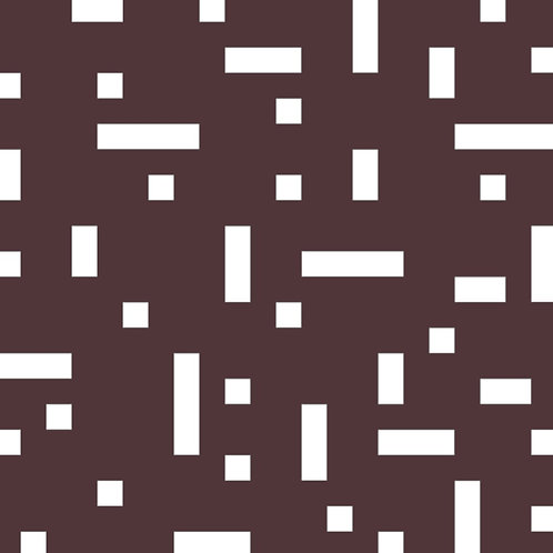 Chocolate No Touch Motif Pattern Tiles