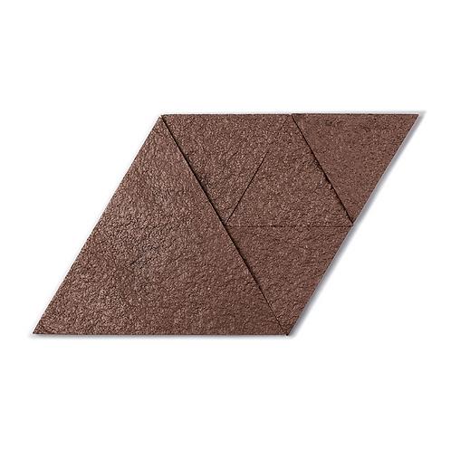 Smoked Quartz Triangle Cork Stone Tiles