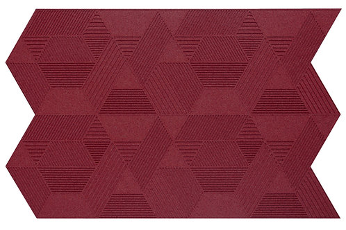 Bordeaux Geometric 3D Panels - 2.3 sqm box