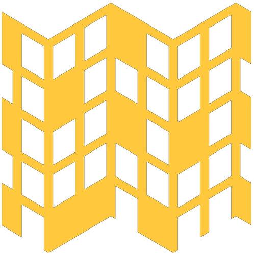 Honey Perspective Motif Pattern Tiles