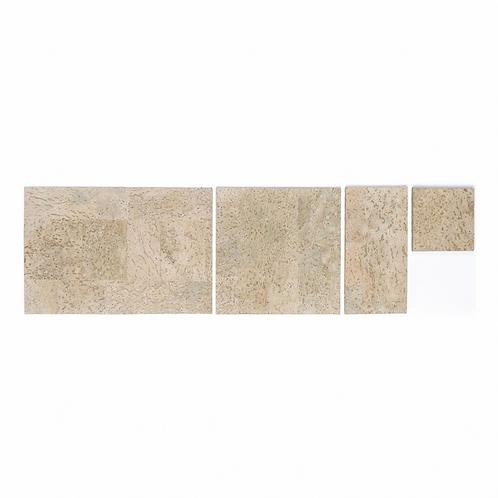 Ivory Cork Grand Tiles