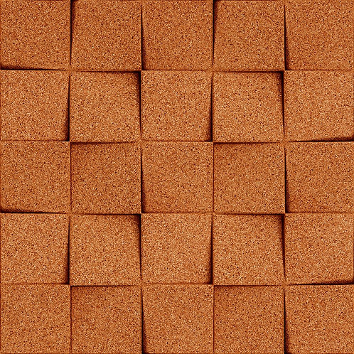 Copper Mini-chock 3D Tiles