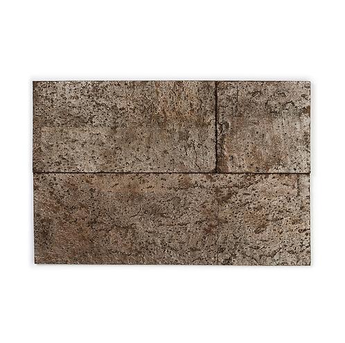 Brown Silver Cork Bricks