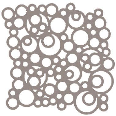 Beige Bubbles Motif Pattern Tiles