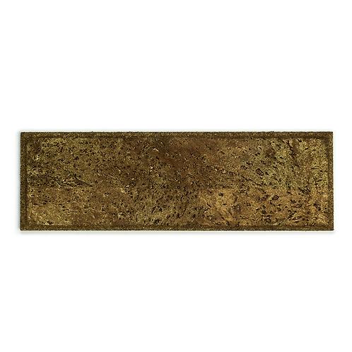 Brown Gold Subway Tiles