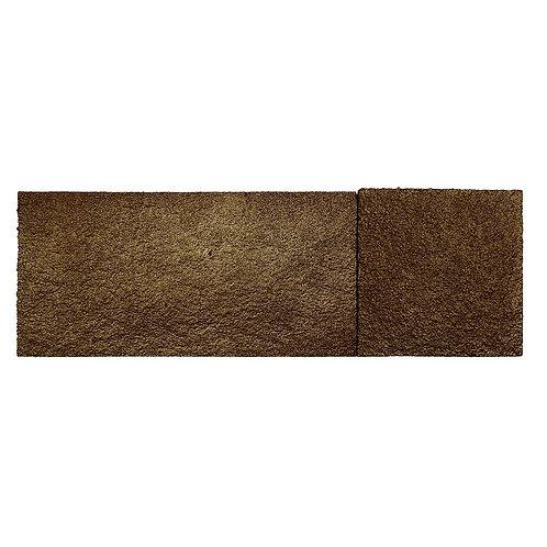 Brown Gold Shimmer Cork Stone Tiles
