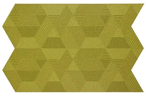 Olive Geometric 3D Panels - 2.3 sqm box
