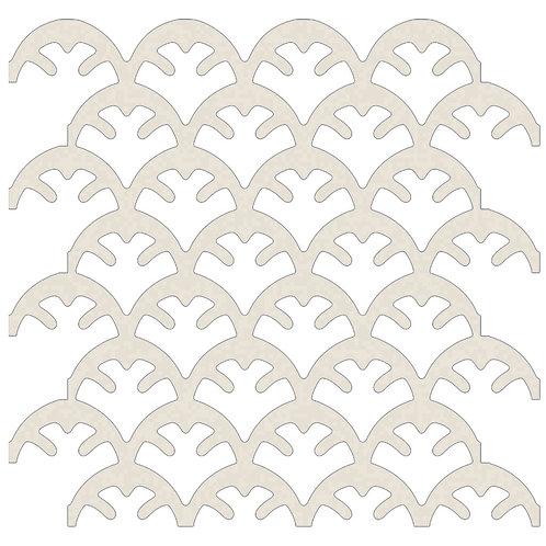 Stone Coral Motif Pattern Tiles