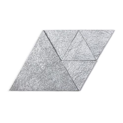 Platinum Triangle Cork Stone Tiles