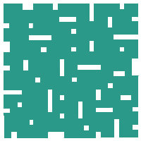 Emerald No Touch Motif Pattern Tiles