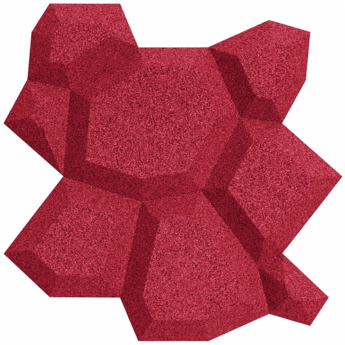 Red Beehive 3D Tiles