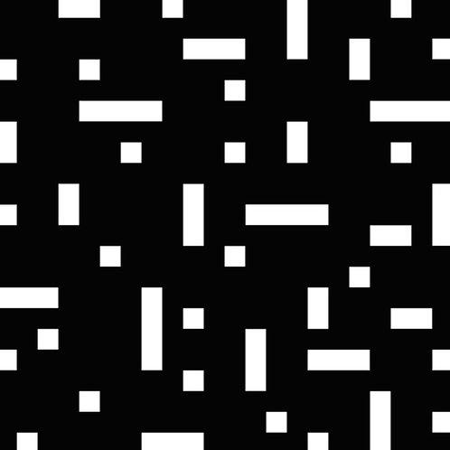 Black No Touch Motif Pattern Tiles