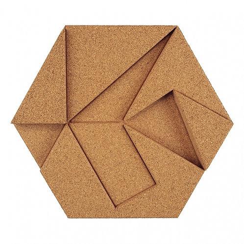 Natural Hexagon 3D Tiles