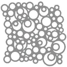 Silver Bubbles Motif Pattern Tiles