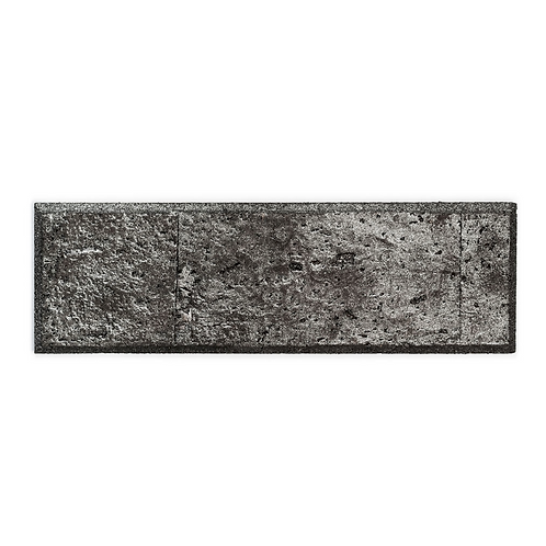 Black Silver Subway Tiles