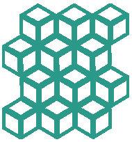 Emerald Cinetic Motif Pattern Tiles