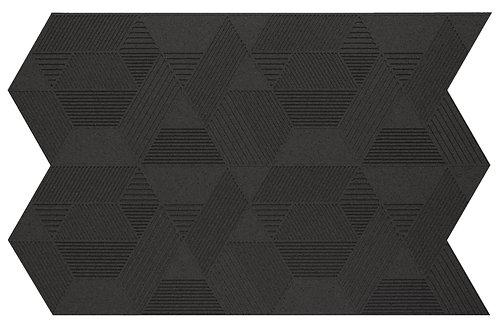 Black Geometric 3D Panels - 2.3 sqm box