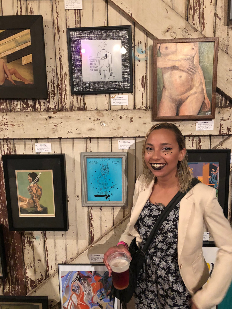 Exhibiting at Nude Art Night Philly   2018