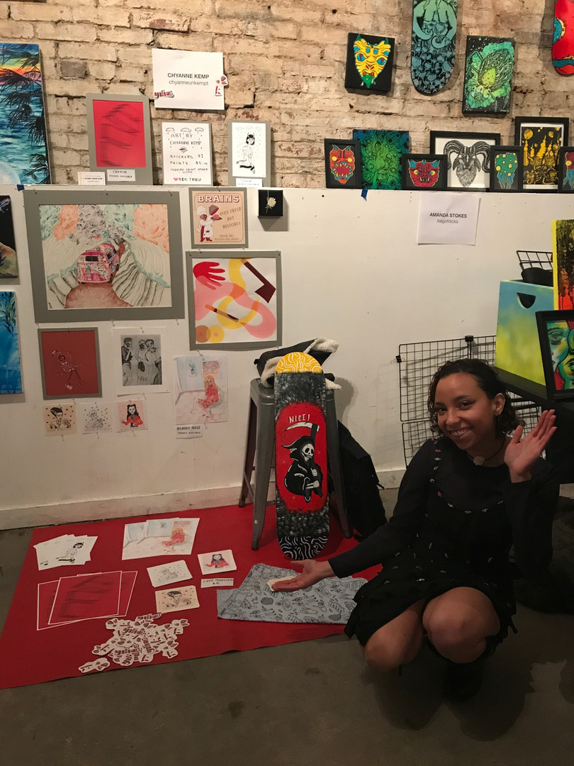 Exhibiting with Philly Art Collective   2017