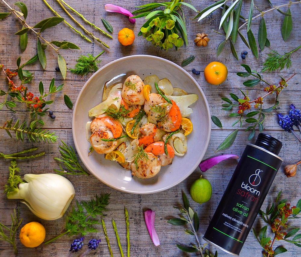 bloom safran - safran Olivenöl