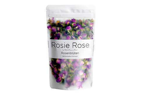 ROSIE ROSE - Damascena Rosen - Ganze Rosenblüten / Getrocknete Rosenblüten (75g)
