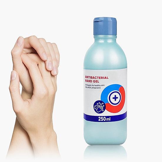 gel disinfettante mani 70% 250 ml.