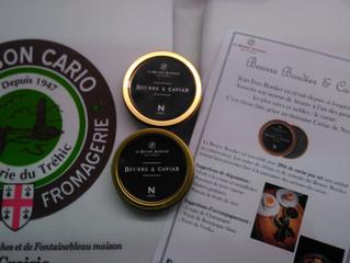 Beurre Bordier au Caviar de Neuvic