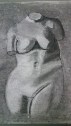 Sculpture drawing