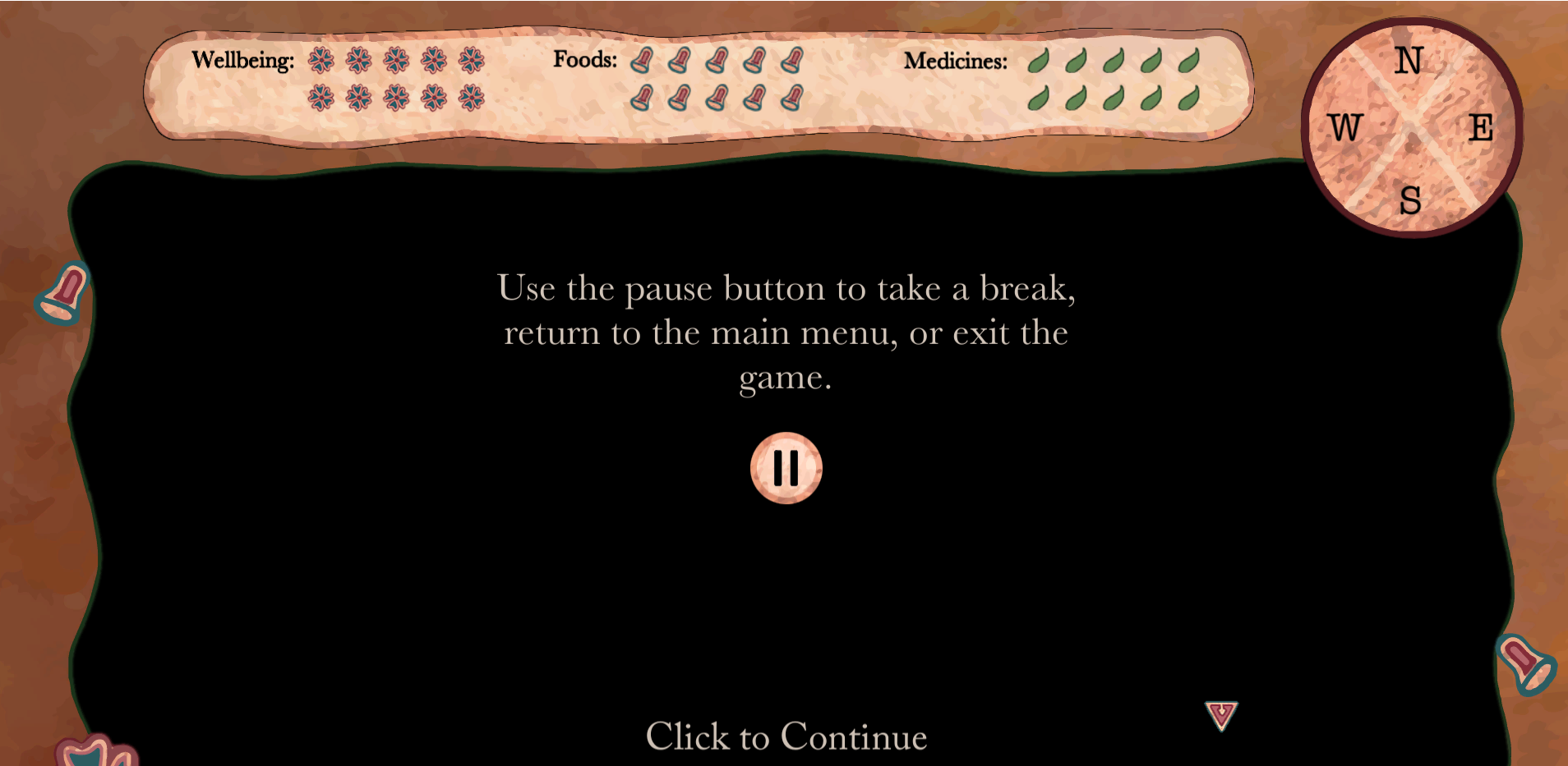 Tutorial-Showing Pause